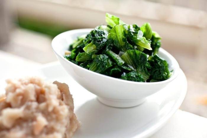 5 jan cooked greens